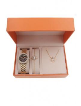 Coffret montre et bijoux...
