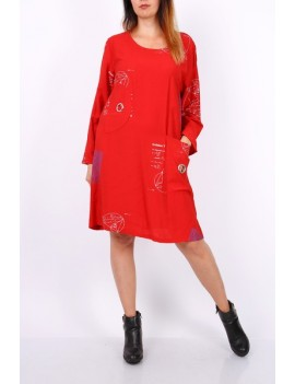 Robe Rouge -Fibbi - Grande...