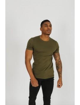 T-Shirt Homme - couleur kaki